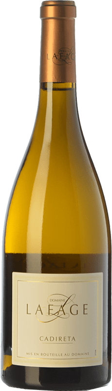 8,95 € 免费送货   白酒 Domaine Lafage Cadireta I.G.P. Vin de Pays Côtes Catalanes 朗格多克 - 鲁西荣 法国 Chardonnay 瓶子 75 cl