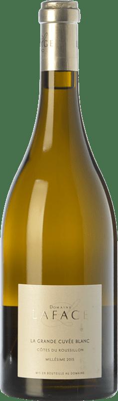 19,95 € Free Shipping | White wine Domaine Lafage La Grande Cuvée Blanc Crianza A.O.C. Côtes du Roussillon Languedoc-Roussillon France Grenache, Grenache Grey, Macabeo Bottle 75 cl