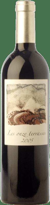 78,95 € Free Shipping | Red wine Domaine Lafage Les Onze Terrasses Reserva 2005 A.O.C. Côtes du Roussillon Languedoc-Roussillon France Syrah, Grenache, Carignan Bottle 75 cl