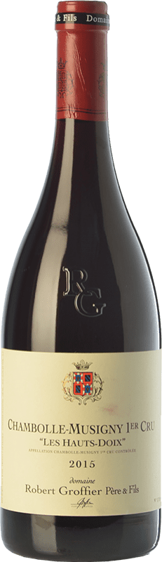 187,95 € Free Shipping | Red wine Robert Groffier Les Hauts Doix Crianza A.O.C. Chambolle-Musigny Burgundy France Pinot Black Bottle 75 cl