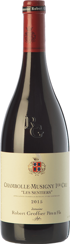 196,95 € Free Shipping | Red wine Robert Groffier Les Sentiers Crianza A.O.C. Chambolle-Musigny Burgundy France Pinot Black Bottle 75 cl