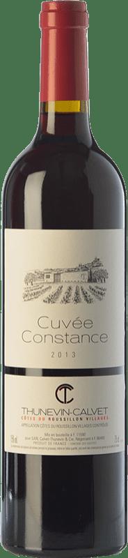 8,95 € | Red wine Thunevin-Calvet Cuvée Constance Joven A.O.C. Côtes du Roussillon Villages Languedoc-Roussillon France Grenache, Carignan Bottle 75 cl