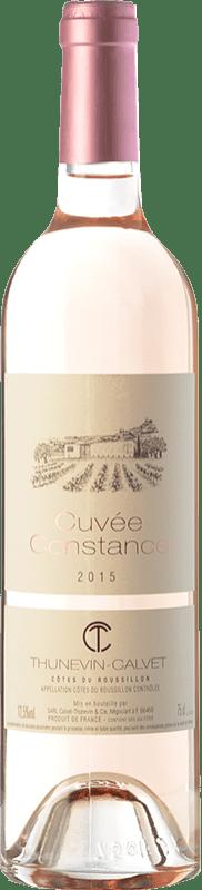 7,95 € | Rosé wine Thunevin-Calvet Cuvée Constance Rosé A.O.C. Côtes du Roussillon Languedoc-Roussillon France Syrah, Grenache Bottle 75 cl