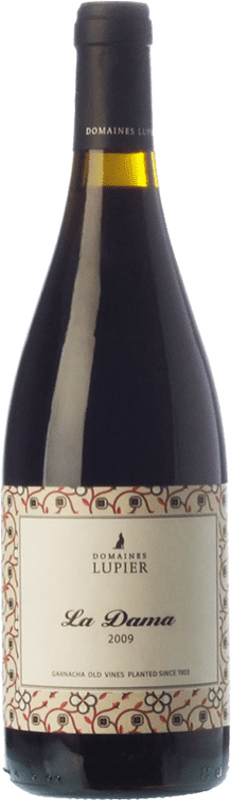 35,95 € Free Shipping | Red wine Lupier La Dama Crianza D.O. Navarra Navarre Spain Grenache Bottle 75 cl