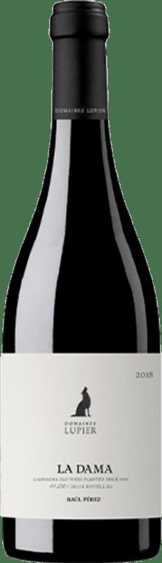 35,95 € Envío gratis | Vino tinto Lupier La Dama Crianza D.O. Navarra Navarra España Garnacha Botella 75 cl