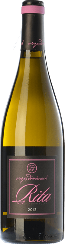 23,95 € Free Shipping | White wine Domènech Rita Crianza D.O. Montsant Catalonia Spain Grenache White, Macabeo Bottle 75 cl