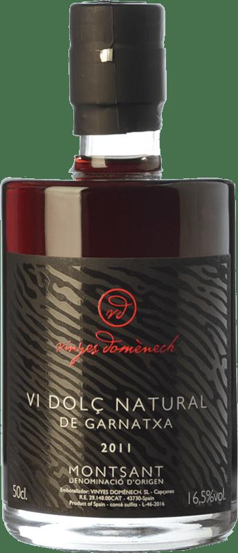 32,95 € Envío gratis   Vino dulce Domènech Vi Dolç Natural de Garnatxa D.O. Montsant Cataluña España Garnacha Peluda Botella 75 cl
