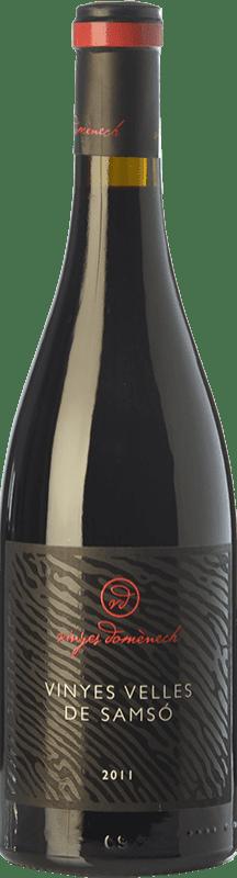 39,95 € Free Shipping | Red wine Domènech Vinyes Velles de Samsó Crianza D.O. Montsant Catalonia Spain Carignan Bottle 75 cl