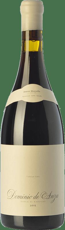 36,95 € Envío gratis | Vino tinto Dominio de Anza El Rapolao Joven D.O. Bierzo Castilla y León España Garnacha, Mencía, Sousón Botella 75 cl
