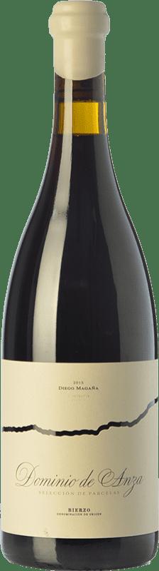 22,95 € 免费送货 | 红酒 Dominio de Anza Selección de Parcelas Joven D.O. Bierzo 卡斯蒂利亚莱昂 西班牙 Grenache, Mencía, Sousón 瓶子 75 cl