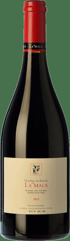 125,95 € 免费送货 | 红酒 Dominio de Atauta La Mala Crianza 2009 D.O. Ribera del Duero 卡斯蒂利亚莱昂 西班牙 Tempranillo 瓶子 75 cl