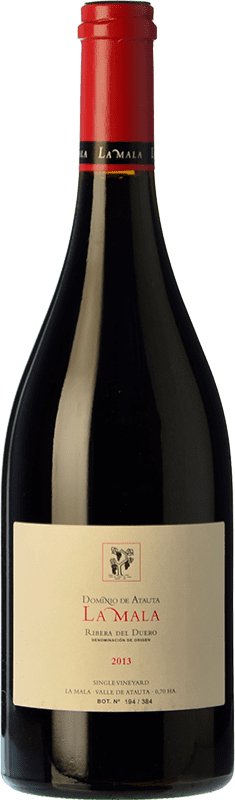 125,95 € Envío gratis | Vino tinto Dominio de Atauta La Mala Crianza 2009 D.O. Ribera del Duero Castilla y León España Tempranillo Botella 75 cl
