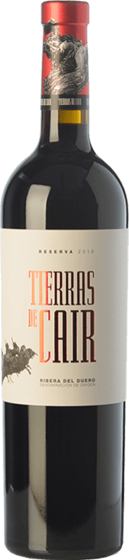42,95 € | Red wine Dominio de Cair Tierras de Cair Reserva D.O. Ribera del Duero Castilla y León Spain Tempranillo Bottle 75 cl