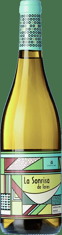 9,95 € Envío gratis | Vino blanco Dominio de Tares La Sonrisa de Tares D.O. Bierzo Castilla y León España Godello Botella 75 cl