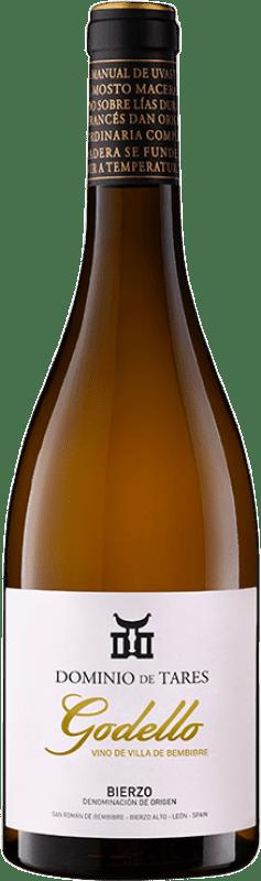 14,95 € Envío gratis | Vino blanco Dominio de Tares Crianza D.O. Bierzo Castilla y León España Godello Botella 75 cl