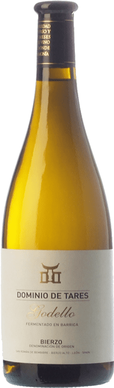 14,95 € Free Shipping | White wine Dominio de Tares Crianza D.O. Bierzo Castilla y León Spain Godello Bottle 75 cl