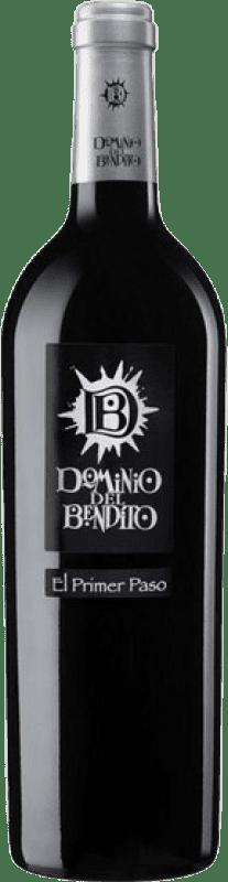 14,95 € Envío gratis | Vino tinto Dominio del Bendito El Primer Paso Joven D.O. Toro Castilla y León España Tinta de Toro Botella 75 cl
