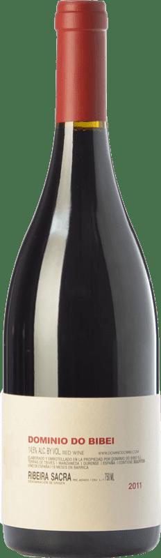 56,95 € 免费送货 | 红酒 Dominio do Bibei Caiño Crianza D.O. Ribeira Sacra 加利西亚 西班牙 Caíño Black 瓶子 75 cl