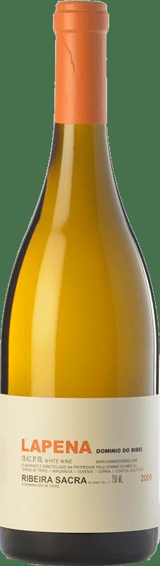 65,95 € 免费送货 | 白酒 Dominio do Bibei Lapena Crianza D.O. Ribeira Sacra 加利西亚 西班牙 Godello 瓶子 75 cl