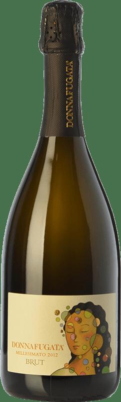 25,95 € Free Shipping | White sparkling Donnafugata Bianco Brut I.G.T. Terre Siciliane Sicily Italy Pinot Black, Chardonnay Bottle 75 cl