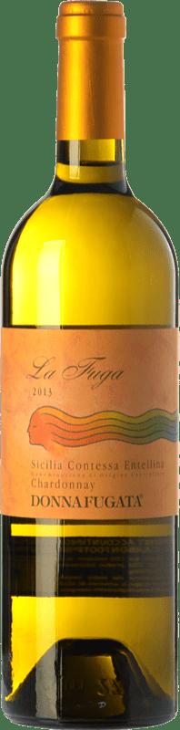 14,95 € Free Shipping | White wine Donnafugata La Fuga D.O.C. Contessa Entellina Sicily Italy Chardonnay Bottle 75 cl