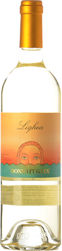 14,95 € Free Shipping | White wine Donnafugata Lighea I.G.T. Terre Siciliane Sicily Italy Muscat of Alexandria Bottle 75 cl