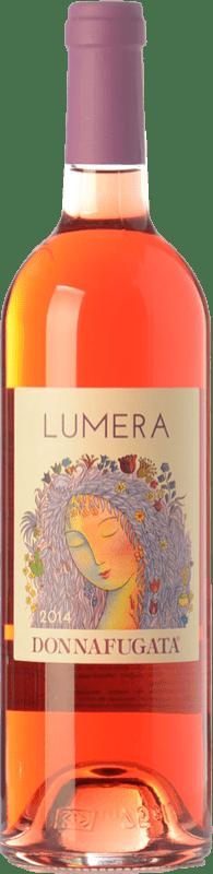13,95 € Free Shipping | Rosé wine Donnafugata Lumera I.G.T. Terre Siciliane Sicily Italy Syrah, Pinot Black, Nero d'Avola, Tannat Bottle 75 cl