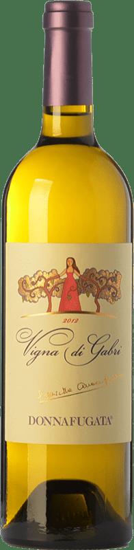 13,95 € Free Shipping | White wine Donnafugata Vigna di Gabri D.O.C. Contessa Entellina Sicily Italy Chardonnay, Sauvignon White, Catarratto, Ansonica Bottle 75 cl