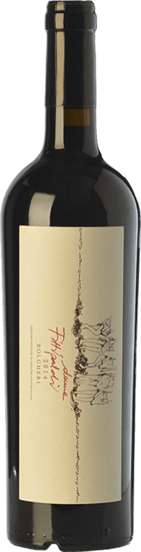 26,95 € Free Shipping | Red wine Donne Fittipaldi D.O.C. Bolgheri Tuscany Italy Merlot, Cabernet Sauvignon, Cabernet Franc, Petit Verdot Bottle 75 cl
