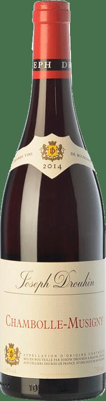 109,95 € 免费送货 | 红酒 Drouhin Crianza A.O.C. Chambolle-Musigny 勃艮第 法国 Pinot Black 瓶子 75 cl
