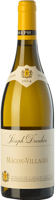 16,95 € Free Shipping | White wine Drouhin A.O.C. Mâcon-Villages Burgundy France Chardonnay Bottle 75 cl