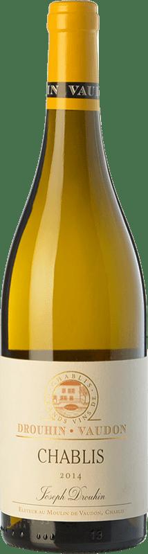 25,95 € 免费送货 | 白酒 Drouhin A.O.C. Chablis 勃艮第 法国 Chardonnay 瓶子 75 cl
