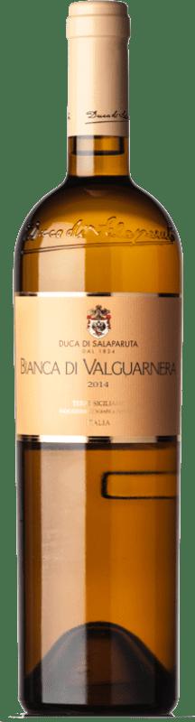43,95 € Free Shipping | White wine Duca di Salaparuta Bianca di Valguarnera I.G.T. Terre Siciliane Sicily Italy Ansonica Bottle 75 cl