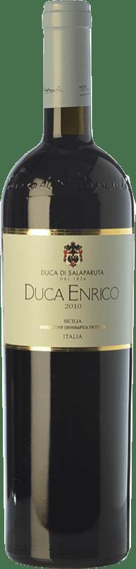 61,95 € Free Shipping | Red wine Duca di Salaparuta Duca Enrico 2010 I.G.T. Terre Siciliane Sicily Italy Nero d'Avola Bottle 75 cl