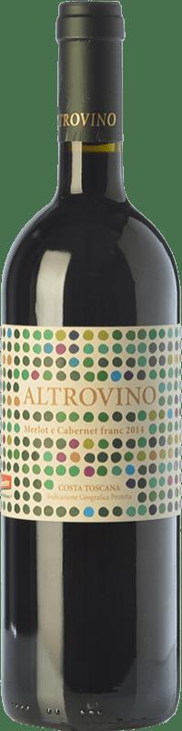 45,95 € Free Shipping | Red wine Duemani Altrovino I.G.T. Costa Toscana Tuscany Italy Merlot, Cabernet Franc Bottle 75 cl