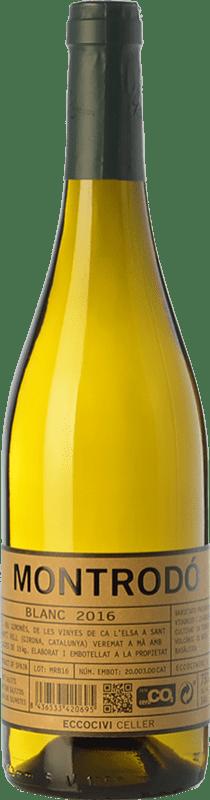 11,95 € | White wine Eccociwine Montrodó Blanc Spain Viognier, Chardonnay Bottle 75 cl