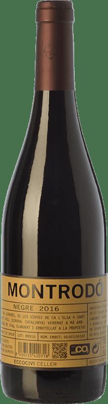 8,95 € Envoi gratuit   Vin rouge Eccociwine Montrodó Negre Joven Espagne Merlot, Cabernet Sauvignon, Cabernet Franc, Petit Verdot Bouteille 75 cl