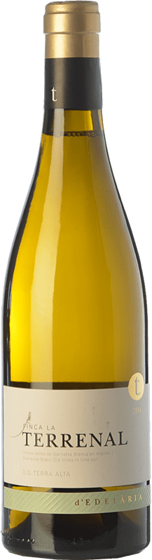 48,95 € 免费送货 | 白酒 Edetària Finca La Terrenal Crianza D.O. Terra Alta 加泰罗尼亚 西班牙 Grenache White 瓶子 75 cl
