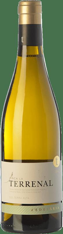 48,95 € Free Shipping | White wine Edetària Finca La Terrenal Crianza D.O. Terra Alta Catalonia Spain Grenache White Bottle 75 cl