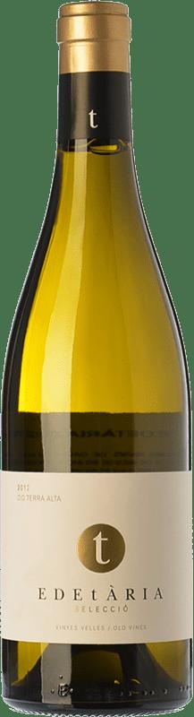 29,95 € Envío gratis | Vino blanco Edetària Selecció Blanc Crianza D.O. Terra Alta Cataluña España Garnacha Blanca Botella 75 cl