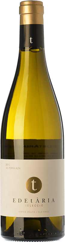 29,95 € Free Shipping | White wine Edetària Selecció Blanc Crianza D.O. Terra Alta Catalonia Spain Grenache White Bottle 75 cl