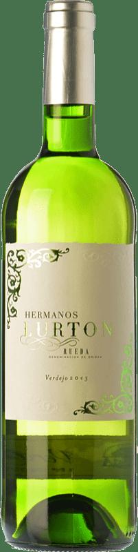 9,95 € Envío gratis | Vino blanco Albar Lurton Verdejo D.O. Rueda Castilla y León España Viura, Verdejo Botella 75 cl