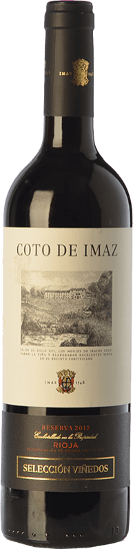 17,95 € Envoi gratuit   Vin rouge Coto de Rioja Coto de Imaz Selección Viñedos Reserva D.O.Ca. Rioja La Rioja Espagne Tempranillo Bouteille 75 cl