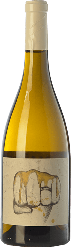 25,95 € Free Shipping | White wine El Escocés Volante El Puño Crianza D.O. Calatayud Aragon Spain Grenache White, Viognier, Macabeo Bottle 75 cl
