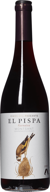 9,95 € Free Shipping | Red wine El Paseante El Pispa Joven D.O. Montsant Catalonia Spain Grenache Bottle 75 cl
