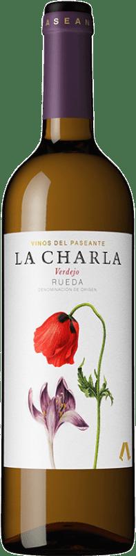 7,95 € Free Shipping | White wine El Paseante La Charla D.O. Rueda Castilla y León Spain Verdejo Bottle 75 cl
