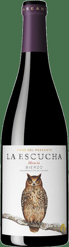9,95 € Free Shipping | Red wine El Paseante La Escucha Crianza D.O. Bierzo Castilla y León Spain Mencía Bottle 75 cl