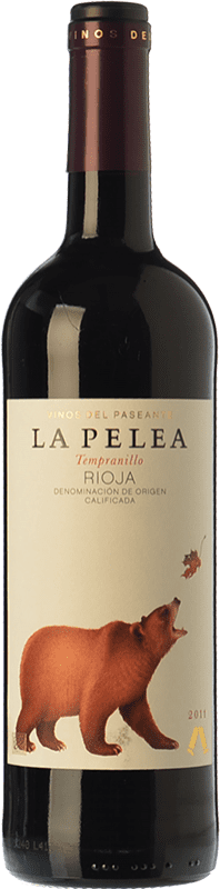 8,95 € Free Shipping | Red wine El Paseante La Pelea Crianza D.O.Ca. Rioja The Rioja Spain Tempranillo Bottle 75 cl