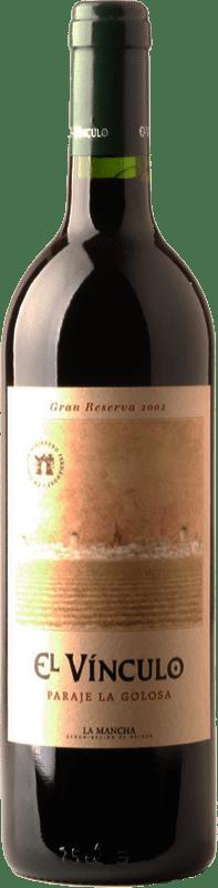 27,95 € Free Shipping   Red wine El Vínculo Paraje La Golosa Gran Reserva D.O. La Mancha Castilla la Mancha Spain Tempranillo Bottle 75 cl