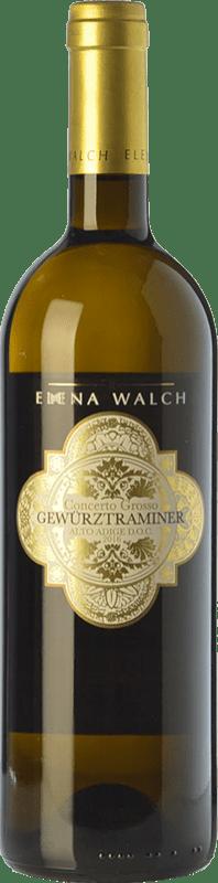 28,95 € | White wine Elena Walch Concerto Grosso D.O.C. Alto Adige Trentino-Alto Adige Italy Gewürztraminer Bottle 75 cl